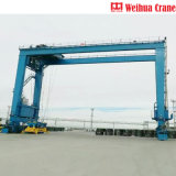 Top1 Crane Manufacturer in China Weihua Rtg Rubber Tyre Container Gantry Crane