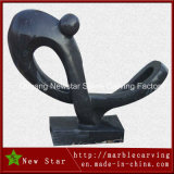 Black Abstract Artwork Granite Gift Sculpture
