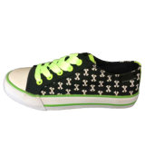 Good Prices Colorful Custom White Star Printed Kids Canvas Shoes
