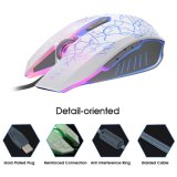 6 Buttons Breathing LED Light Gaming Mouse (M-65)