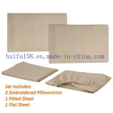 Competitive Price Embroidery Sheet Set Bed Sheets