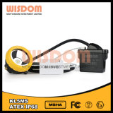 Wisdom Kl5ms Mining Corded Headlamp, LED Head Lamp