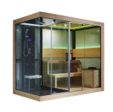 Monalisa New Design Luxury Sauna and 3people Steam Room (M-6032)