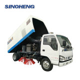 China Factory Direct Isuzu Chassis Vacuum Road Cleaning Street Sweeper Truck