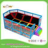 Factory Price Wholesale Square Small Jumptek Trampoline with Foam Pit