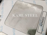 Stainless Steel Silver Color Embossed Kem002 Sheet for Decoration Materials