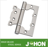 Steel or Iron Flush Shower Door Hinge (100X75mm Sub-mother (butterfly) hardware)