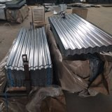 0.14mm Galvanized Corrugated Steel Sheet in Full Hard with SGS