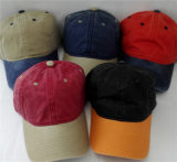 Custom Sports Pigment Washed Baseball Cap