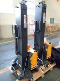 500kg 800mm 1300mm Semi Electric Self-Load Stacker, Lifting Forklift