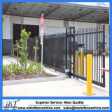 Black Color Steel Fence Sliding Gate