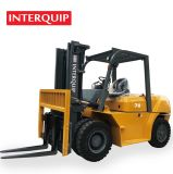 Interquip China 5 Tons, 7 Tons, 10 Tons Diesel Forklift Truck Equip with Chaochai/Isuzu/Mitsubishi Engine.