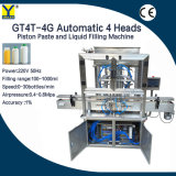 Gt4t-4G Automatic Piston Type Sanitizer Bottle Filling Machine for Hand Sanitizing Gel