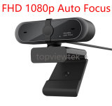 Auto Focus FHD 1080P USB Webcam Camera Computer Cam with Built-in Microphone