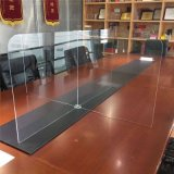 Cusotmized Clear Transparent Acrylic Plexiglass Office Room Desk Divider for Sale