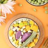 Muesli Ingredients OEM Factory Freeze Dried Green Peas Vegetable Bulk-Food