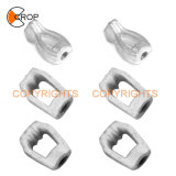 Hot DIP Galvanized Forged Carbon Steel Twin Thimble Eye Nut Pole Line Hardware