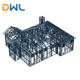 Light Steel Structure with Steel Frame for Warehouse/Workshop/Factory