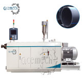 Stable Output Capacity 160-450mm PE Plastic Tube Extrusion Machinery