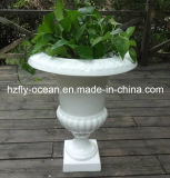 Wedding Lacquered Fiberglass Flower Pot (FO-207)