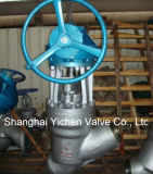High Temperature High Pressure Self Sealing Manual Globe Valve