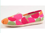 New Style Fashion Women Colorful Flat Casual Shoes