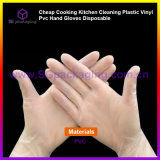 Cheap Cooking Kitchen Cleaning Plastic Vinyl PVC Hand Gloves Disposable