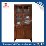 Wooden Bookcase with Glass Door (AI310)