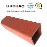 Chimney Fiberglass High Strength GRP/FRP Square Pipe Tube