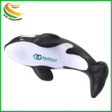 Custom Logo Promotional Gift PU Foam Dolphin Stress Reliever Ball