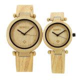 New Wholesale Wood Smart Wrist Watch Men Women Fashion Wooded Watch Fashion Quartz Bamboo Watch