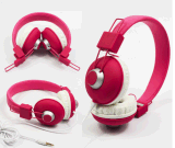 Low Price Custom Foldable Wired Headphone