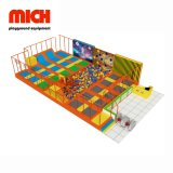 Rectangle Trampoline Indoor Trampoline Park with Safety Net