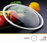 Normal Dome Glass Lid Fry Pan Cover Cookware