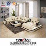 Chinese Modern Leather Home Furniture for Living Room (G8027)
