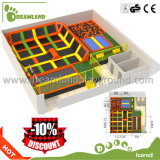 China Trampoline Parks Manufacturer Children and Adult Indoor Trampoline Dlj1231