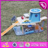 New Products Children Parking Toy Wooden Toy Garage Set W04b048