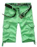 New Fashion Men's Short Pants 100%Cotton Dye Washing for Summer