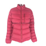 Women′s Jacket Lightweight Padded Warm Plain Color Goose Down Jacket