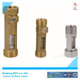 316ss 304ss Brass Titanium Alloy Flow Meter Valve with High Quality