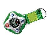 Outdoor Zinc Alloy Carabiner Compass, Compass Keychain