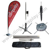 Flying Flag Banner Water Base Stand