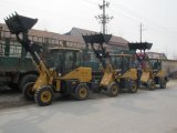 CE Approved 1.2 Ton Small Wheel Loader with Euroiii Engine