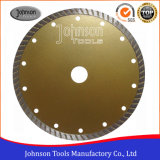 180mm Sintered Turbo Diamond Saw Blade for Granite Cutting