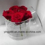 Waterproof Clear Acrylic Flower Storage Box /Rose Packing Box Shenzhen Manufacturer