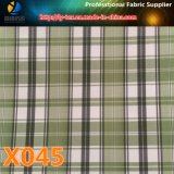 Polyester Check Fabric with 10 Choices in Prompt Goods for Garment Lining (X045-47)