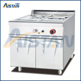 Gh984 Gas Bain Marie Cooker with Cabinet of Catering Equipment