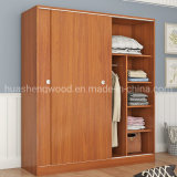 New Style Good Prices Wooden Clothes Designs Sliding Door Wardrobe in Bedroom Wall Closet
