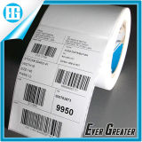 Custom Paper Self Adhesive Barcode White Sticker Labels for Package