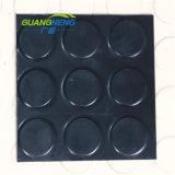 Factory Wholesale Black Gym Coin Rubber Floor Mat